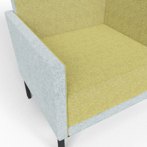 Georgina High Back Upholstered Chair Closeup