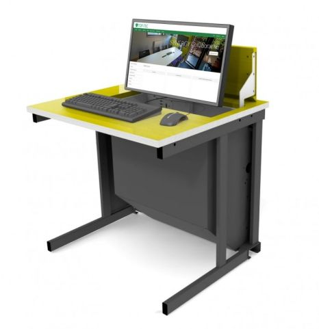 Pop Up IT Desk Yellw Top