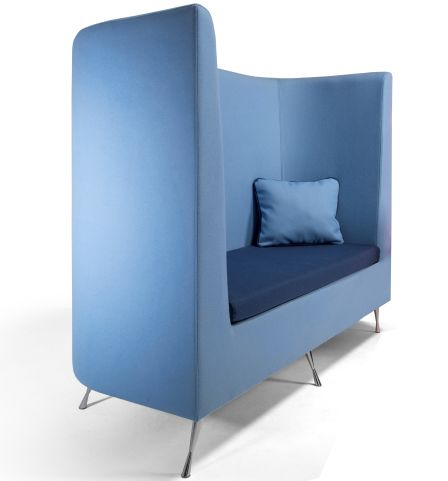 Colab Sofa Blue With Cushion