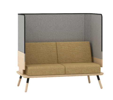 Console 2 Seater High Back Sofa - Peacework