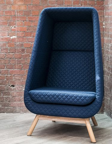 Muse Chair Wooden Base Acoustic Seating E