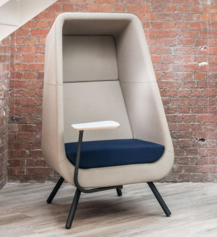 Muse Acoustic Seating F Wooden Base