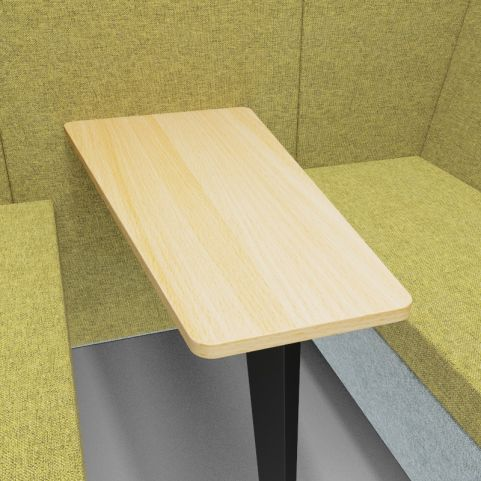 Standa 4 Person Den With Arms - Close Up Shot 2
