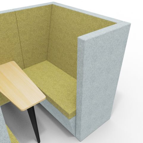 Standa 4 Person Den With Arms - Close Up Shot