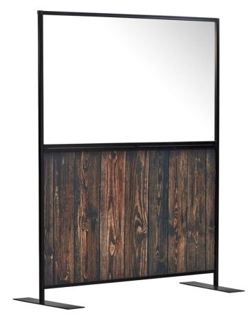 Staysafe Screen With A Rustic Laminate Panel 1