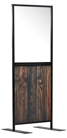 Staysafe Screen With A Rustic Panel 2