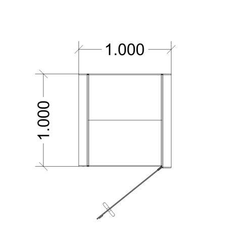 Pcon Solicitors POST COVID-19 - Dimensions 1000mm X 1000mm