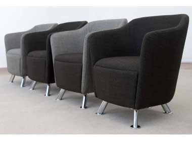 Reception & Lounge Tub Chairs - Solace - Office Reality