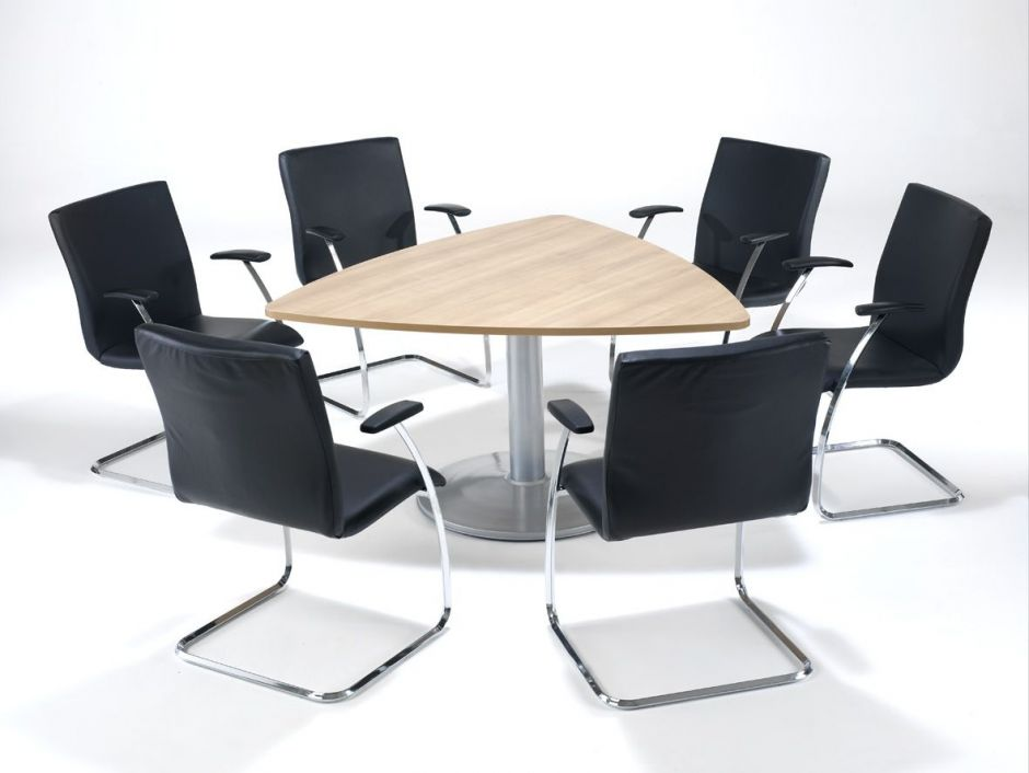 Triangular Boardroom Tables Tulip Office Reality - Triangle conference table