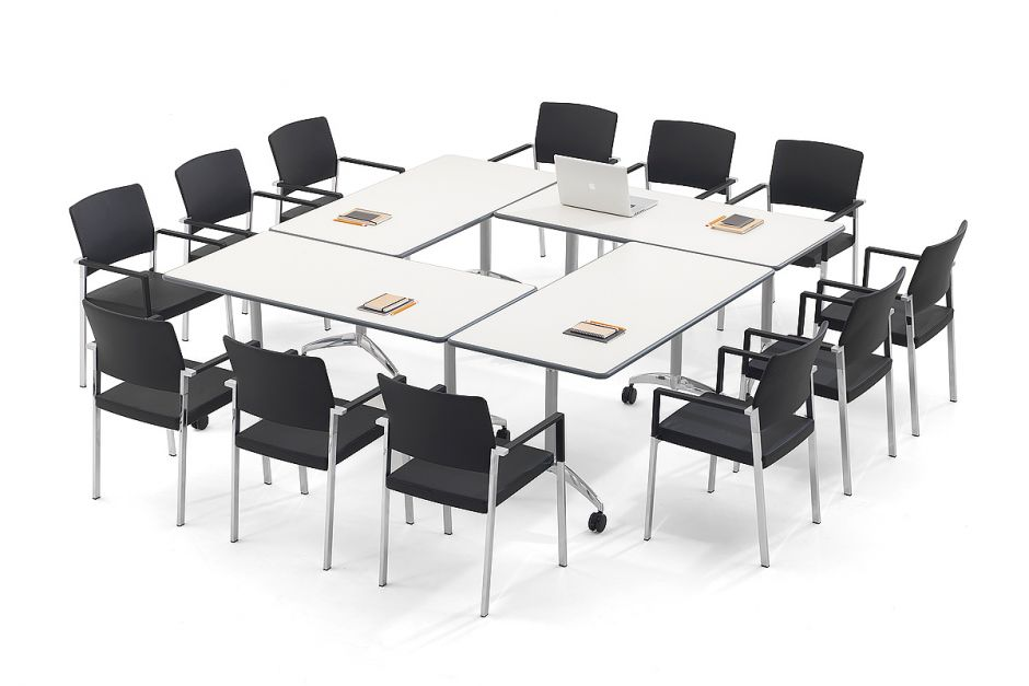 Flip Top Conference Tables Flight Office Reality