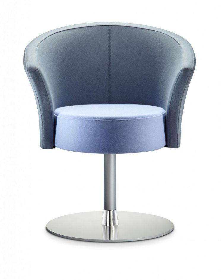 Bobbin Designer Tub Chair- Circular Base - Office Reality