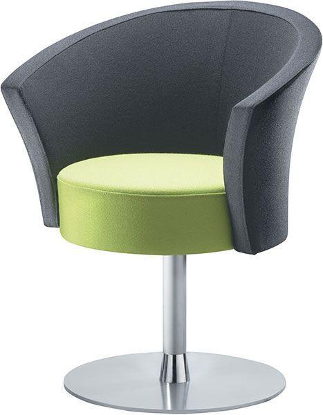 Bobbin Designer Tub Chair Circular Base Office Reality