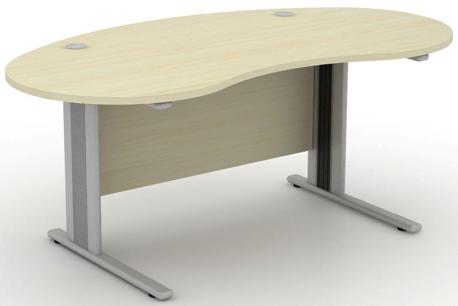Avalon Plus Kidney Shaped Desk. Back. 2 10771 E