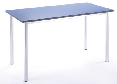 Rectangle Table Blue Side