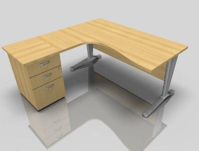 Hover To Zoom Vito Left Hand Corner Desk