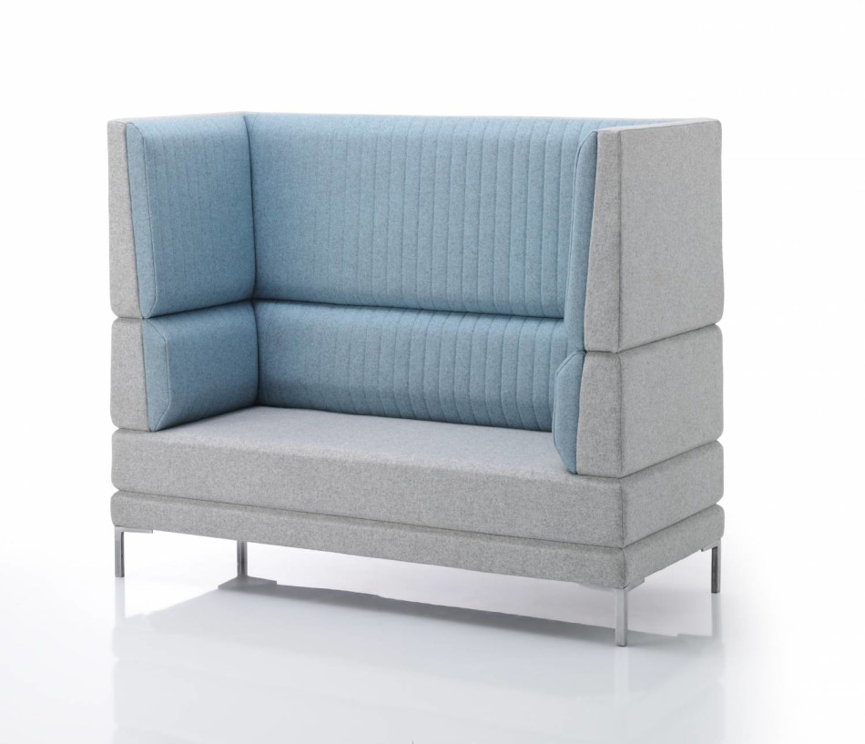 Bench Sofas with a High Back & Arms Horay fice Reality