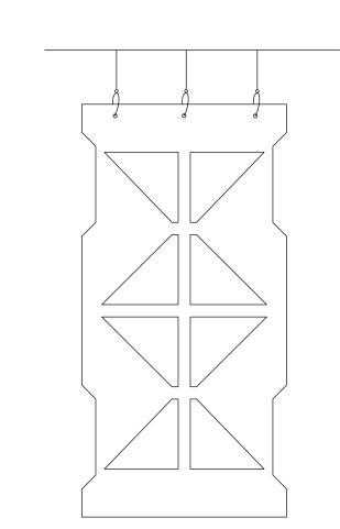 Aku Geometric Ceiling Baffles