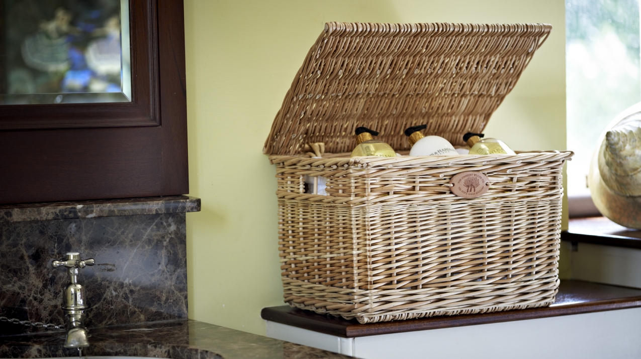 Willow Bathroom Storage Basket