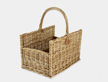 Drop End Log Basket