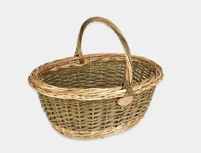 English Oval Shopping Basket