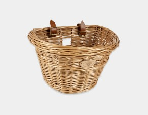 Vintage Bicycle Basket - Front