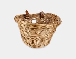 Vintage Bicycle Basket - Front