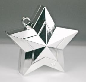 Star Balloon Weight - Silver