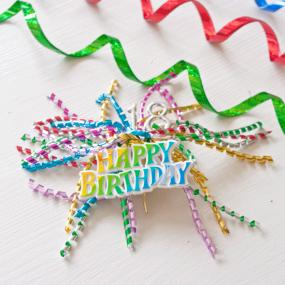 18th Birthday Cake Decoration Ribbon Spray