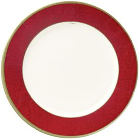 Red Party Dinner Plates by Caspari