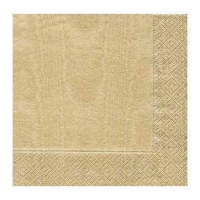 Gold Luncheon Size napkins by Caspari