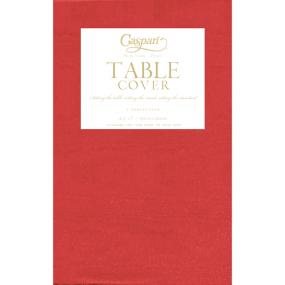 Red Tablecloth by Caspari