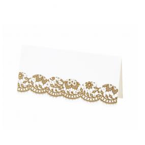 Gold Party Porcelain Place Cards