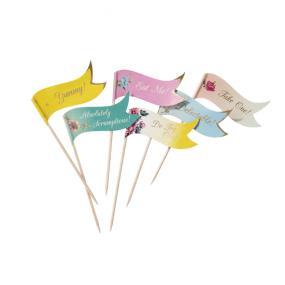 Truly Scrumptious Canape Flags