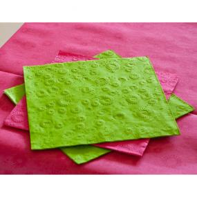 Lime Green Moments Paper Dinner Napkins