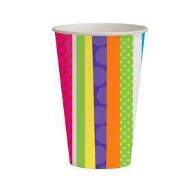 Bright & Bold Paper Party Cups