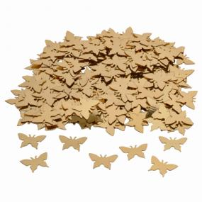 Gold Butterflies Table Confetti