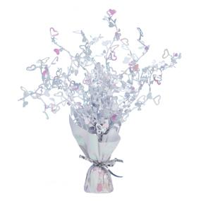 Table Centrepiece Iridescent Heart