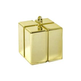 Gold Balloon Weight - Gift Box