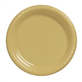 Gold Plastic Plates