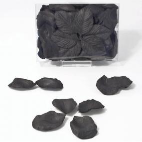Black Rose Petals - Paper x 100
