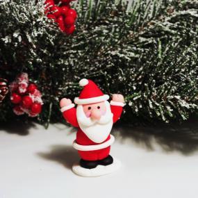 Father Christmas Cake Decoration - Claydough