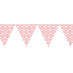 Pale Pink Paper Bunting