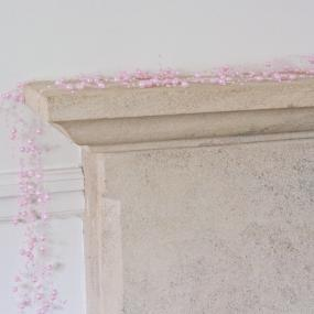 Pink Pearl Garland - 2 Metre