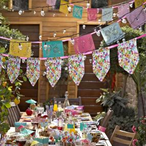 Floral Fiesta Floral Bunting