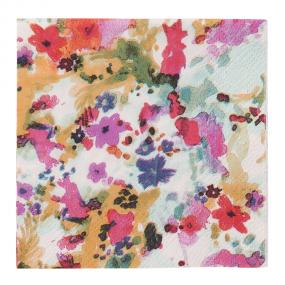 Floral Fiesta Paper Cocktail Napkins