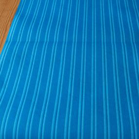 Blue Stripes Paper Table Runner
