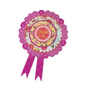 Truly Bride To Be Rosette - Hen Night Party