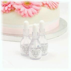 White & Silver Wedding and Party Bubbles - Vintage Romance