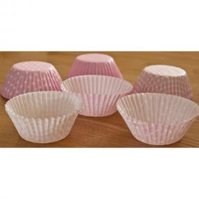 Pale Pink Cupcake Cases x 75