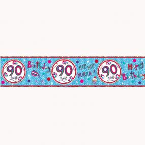 90th Birthday Banner - Rachel Ellen Designs